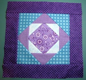 Exploding Pineapple Quilt Block