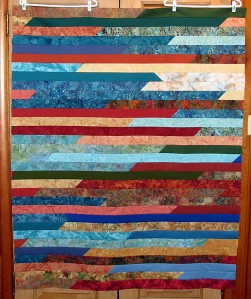Jelly Roll Race Finished Strips