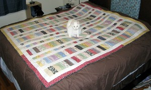 Sally on Quilt