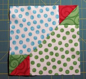 Accidental Quilt Block Tutorial Secondary block