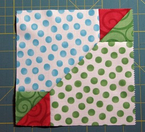 Accidental Quilt Block Tutorial Secondary block