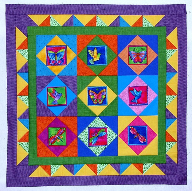 Laurel Burch Quilt1