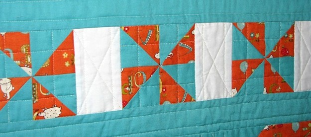 Middle section quilting