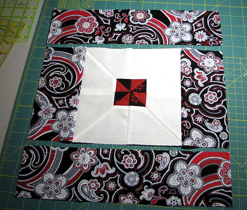 Paisley Quilt step 17