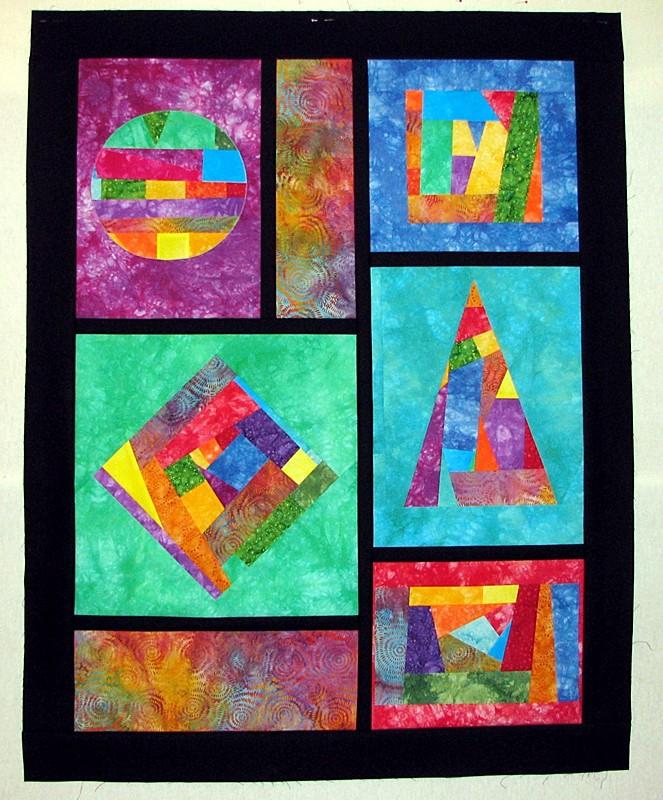 Geometric Quilting Fabric Fabric Geometric Shape