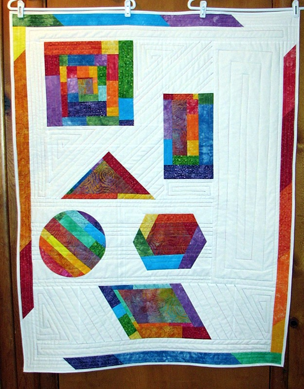 Improv Quilt Done