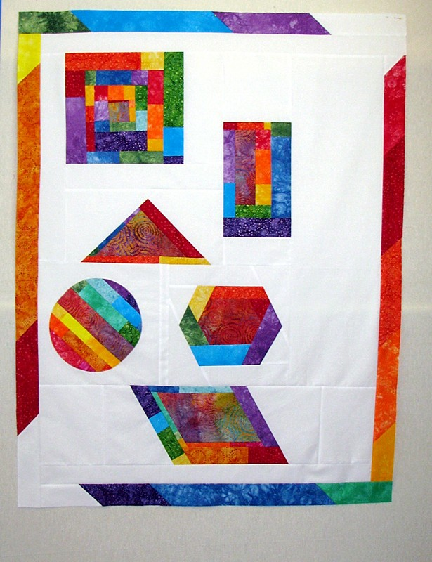Improv Quilt Top