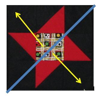 Diagonal Tape 2