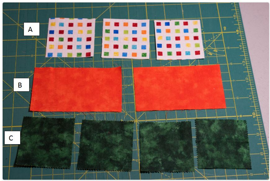 Accident Quilt Block Cuts