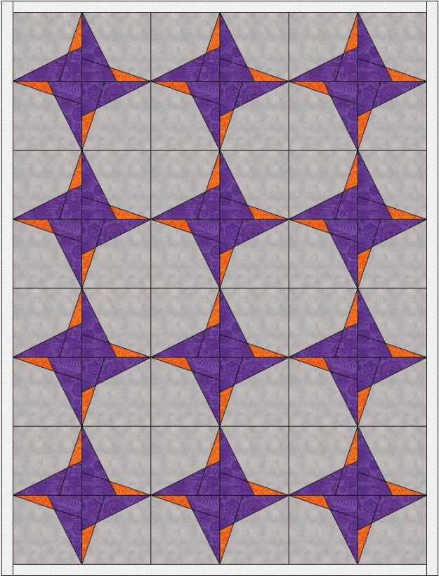 Quilt Layout Example